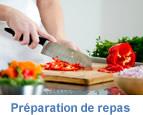 Cuisine et préparation de repas à Tournai